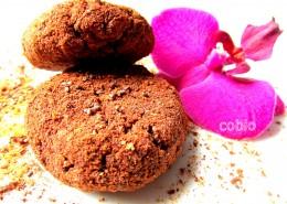 Kakavovi piškoti s kokosom in chia semeni
