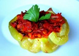 cobio-recept-polnjena-paprika-z-leco-in-rizem
